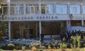Обнародованы видео взрыва и стрельбы в колледже Керчи - фото 1
