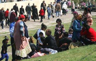 Ромов изгнали с ЖД-вокзала Киева - фото 1
