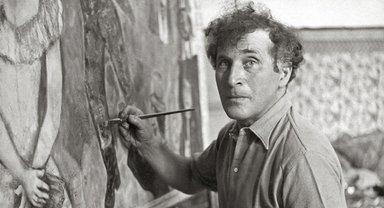 Марк Шагал рисует порнографические картины - фото 1