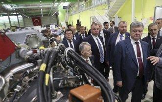 Порошенко побывал на производстве мощных беспилотников компании Baykar Makina в Турции - фото 1
