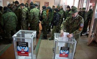 """В """"выборах"""" на Донбассе будут """"участвовать"""" дети - фото 1"""