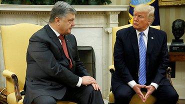 Порошенко встретился с Трампом - фото 1