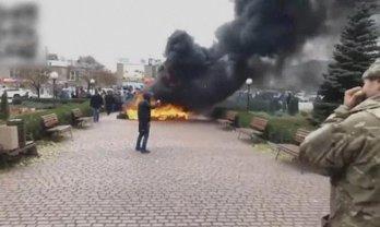 Жители Кривого Рога вышли на акцию протеста - фото 1
