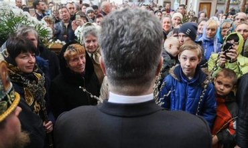 Порошенко все же встретился с иерархами УПЦ МП - фото 1