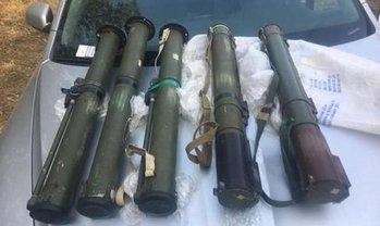 У членов группировки нашли много оружия - фото 1