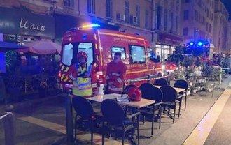 Во Франции посетителей кафе облили кислотой - фото 1