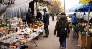 Стихийный рынок на арендованной земле - фото 1