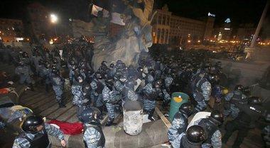 29 ноября - годовщина избиение студентов Беркутом на Майдане Независимости - фото 1