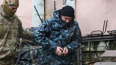 Украинские курсанты поддержали захваченных в плен моряков - фото 1