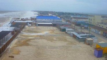 В Запорожье затопило базы отдыха - фото 1