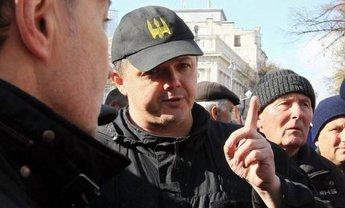 Семенченко рассказывает адептам Саакашвили о грузинских шпилях - фото 1