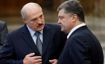Лукашенко обиделся, что его предложение отвергалось Порошенко - фото 1