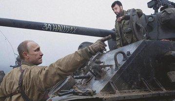 Низкопробный фотошоп радует адептов Путина - фото 1