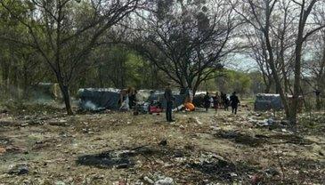 Дело о нападении на лагерь ромов передали в суд - фото 1