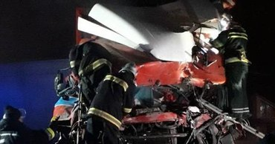 В Хмельницкой области грузовиквъехалв кафе — есть погибшие - фото 1