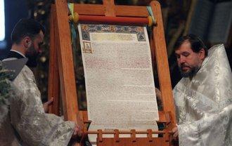 Не все члены Синода расписались под Томосом - фото 1