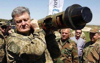 Порошенко похвастался моральным преимуществом украинцев перед российскими танкистами - фото 1