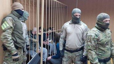 Всех украинских моряков и сотрудников СБУ оставили под стражей - фото 1