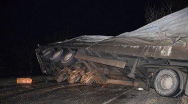 Под Николаевом перевернулся грузовик с 6000 кур - фото 1