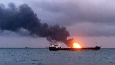В Черном море ищут тела погибших моряков - фото 1
