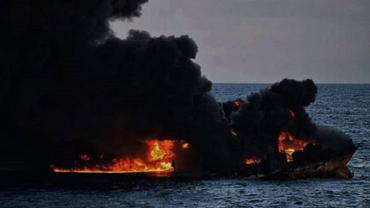 Загоревшиеся в Керченском проливе танкеры поставляли газ в Сирию - фото 1