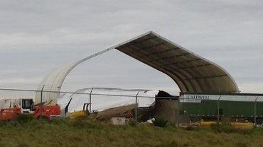 Ураган повредил творение команды Маска - фото 1