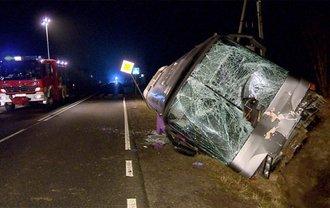 В результате аварии погиб водитель автобуса - фото 1