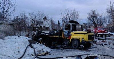 В Харькове во время ремонта водопровода взорвалось авто, пострадали люди - фото 1