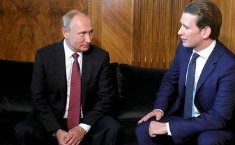Себастьян Курц собирается очернять Украину на руку Путина - фото 1