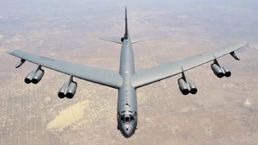 Бомбардировщик США подлетел к России - фото 1