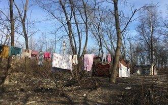 Табор ромов развалили неизвестные активисты - фото 1