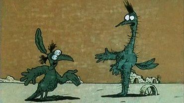 """Кадр из мультфильма """"Крылья, ноги и хвосты"""", который очень подходит заявленной теме - фото 1"""