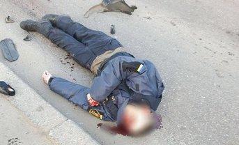 Аваков опубликовал видео избиения гвардейцев после наезда - фото 1