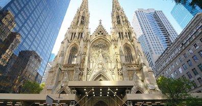 В  Нью-Йорке чуть не сожгли старинный собор - ФОТО - фото 1