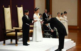 Новый император Японии взошел на престол - фото 1