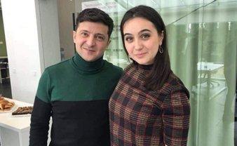 Зеленский показал своего пресс-секретаря  - ФОТО - фото 1