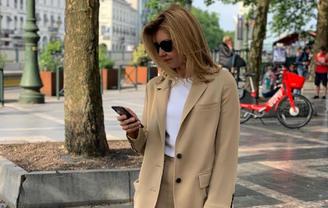 Елена Зеленская покрасовалась модным прикидом – яркие ФОТО  - фото 1