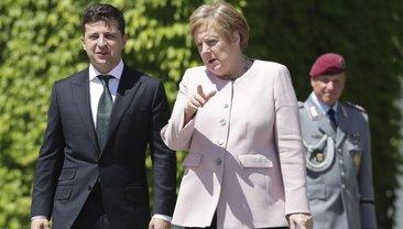 Ангела Меркель призналась Зеленскому, что топит за русских - фото 1