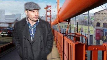 У Кличко устал еще один мостик – очень грустные ФОТО  - фото 1