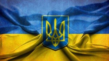 В центре Донецка вывесили флаг Украины  - яркое ВИДЕО  - фото 1