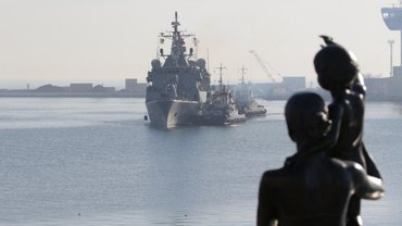 Ватные террористы недовольны присутствием кораблей НАТО в Одессе - фото 1