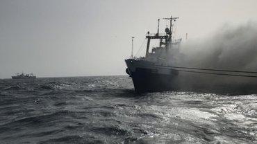 """Украинский корабль """"Иван Голубец"""" едва не потерпел бедствие - фото 1"""