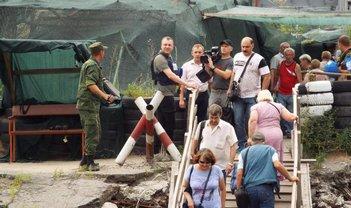 Российские пропагандисты потусили в Станице Луганской - фото 1