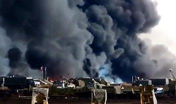 После взрыва на военном полигоне в РФ произошла утечка радиации - фото 1