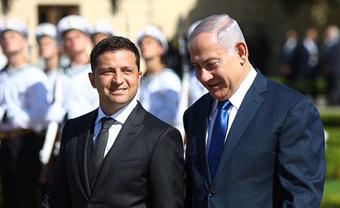 Зеленский встретился с Нетаньяху – ФОТО  - фото 1