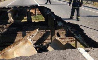 Обвал моста в Харькове мог перекрыть железную дорогу - фото 1