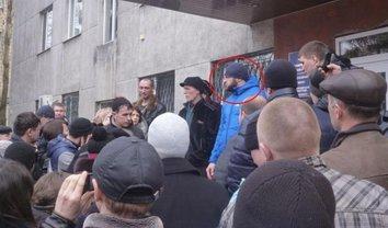 Александр Швайко на ватном митинге в 14-м году - фото 1