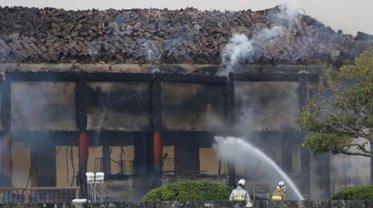 Все строения замка Сюри уничтожены огнем - фото 1