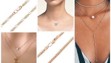 Золотые цепочки находятся на пике моды - фото 1