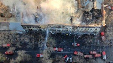 В здании одесского колледжа разыскивают пятерых пострадавших - фото 1
